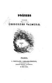 Poésies: Volume1