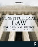 Constitutional Law for Criminal Justice PDF