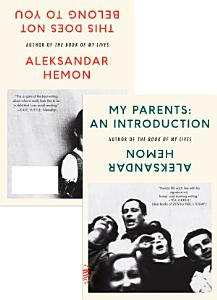 My Parents  An Introduction   This Does Not Belong to You Book