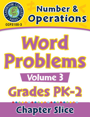 Number   Operations  Word Problems Vol  3 Gr  PK 2