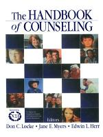 The Handbook of Counseling PDF