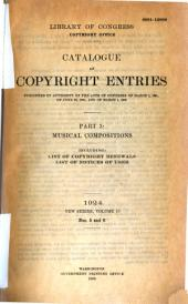 Catalog of Copyright Entries: Part 3, Issues 5-6
