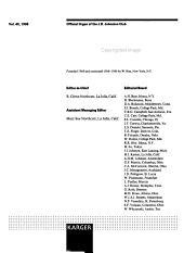Brain  Behavior and Evolution PDF