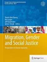 Migration  Gender and Social Justice PDF