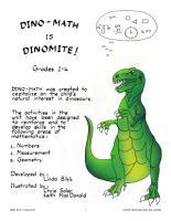 DINO MATH IS DINOMITE  Gr  2 4 PDF