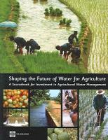 Shaping the Future of Water for Agriculture PDF