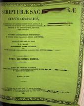Scripturae Sacrae, cursus completus: Volumes 21-22
