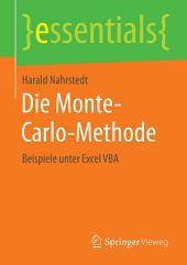 Die Monte-Carlo-Methode: Beispiele unter Excel VBA