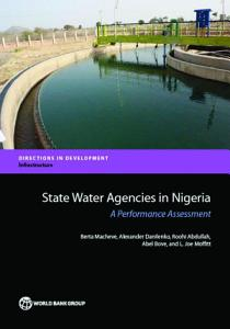 State Water Agencies in Nigeria PDF