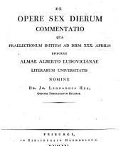 De opare sex dierum