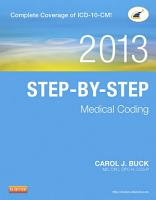 Step by Step Medical Coding  2013 Edition   E Book PDF