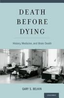 Death before Dying PDF