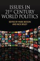 Issues in 21st Century World Politics PDF