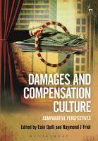 Damages and Compensation Culture PDF