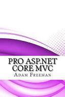 Pro Asp net Core Mvc