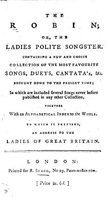 The Ladies Polite Songster