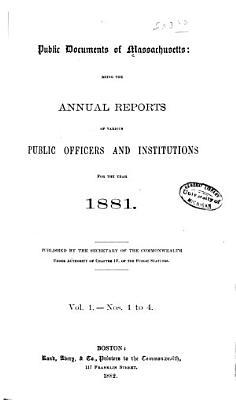 Public Documents of Massachusetts PDF