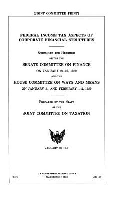 Federal Income Tax Aspects of Corporate Financial Structures PDF