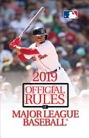 2019 Official Rules of Major League Baseball Book