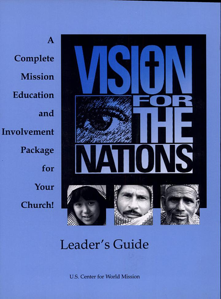 Vision for The Nations Leader's Guide