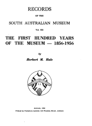 Records of the South Australian Museum