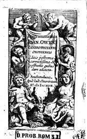 Epigrammatum Ioan. OwenI Cambrio-Britanni Oxoniensis