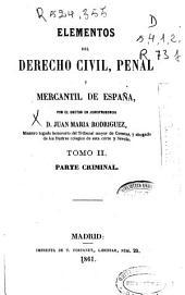 Parte criminal (344 p.)