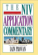 The NIV Application Commentary