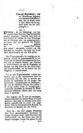 Missive van het Hof met een concept placaat tegen het inkoomen van smoussen, landloopers, vagabonden: item met een concept reglement tot het opregten van een provinciaal tugthuis, &c. Commissoriaal. 8 december 1731: Volume 4