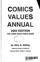 Comics Values Annual 2002 PDF