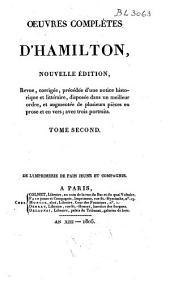 Oeuvres complètes d'Hamilton: Volume2