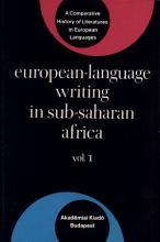 European language Writing in Sub Saharan Africa PDF