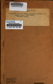 Brougham and his early friends: letters to James Loch, 1798-1809 .... Revised notes