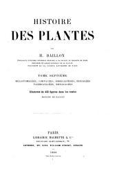 Histoire des plantes: Volume7