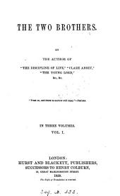 The two brothers, by the author of 'The discipline of life'.