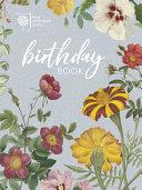 RHS Birthday Book