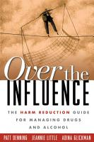 Over the Influence PDF