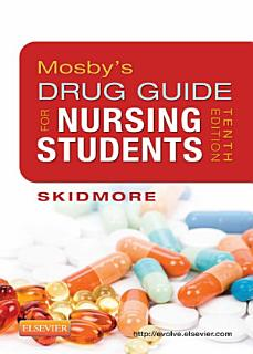 Mosby s Drug Guide for Nursing Students   E Book Book