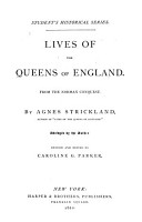 Lives of the Queens of England PDF