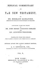 Biblical Commentary on the New Testament: Volume 5