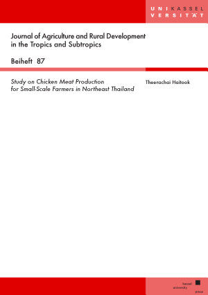 Study on Chicken Meat Production for Small Scale Farmers in Northeast Thailand