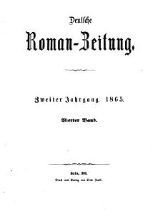 Deutsche Roman Zeitung PDF