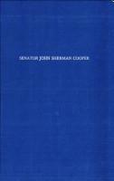 Senator John Sherman Cooper PDF