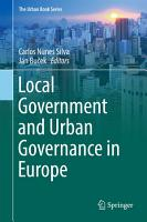 Local Government and Urban Governance in Europe PDF