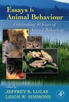 Essays in Animal Behaviour PDF