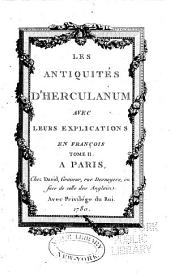 Antiquités d'Herculanum: Volume2