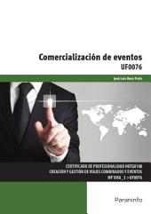 UF0076 - Comercialización de eventos