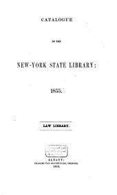 Catalogue of the New-York State Library: 1855/56, Volume 2