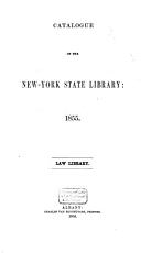 Catalogue of the New York State Library PDF