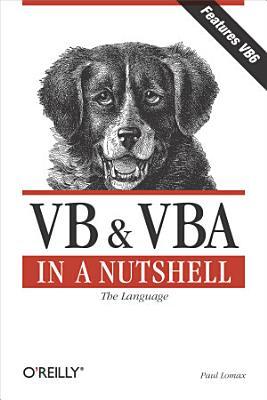 VB   VBA in a Nutshell  The Language PDF